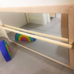 Adjustable Montessori mirror