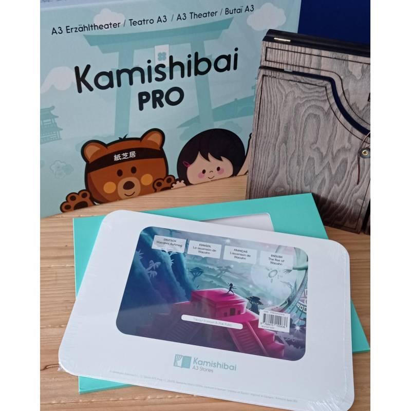 Kamishibai La ascensión de Wacahn