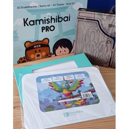 Kamishibai El pájaro Puhuy