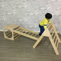 Pikler set (Triangle + ramp...